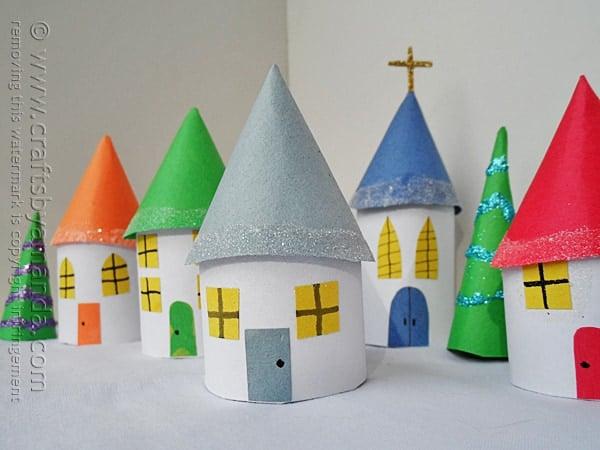 manualidades-navidad-para-niños-rollos-papel