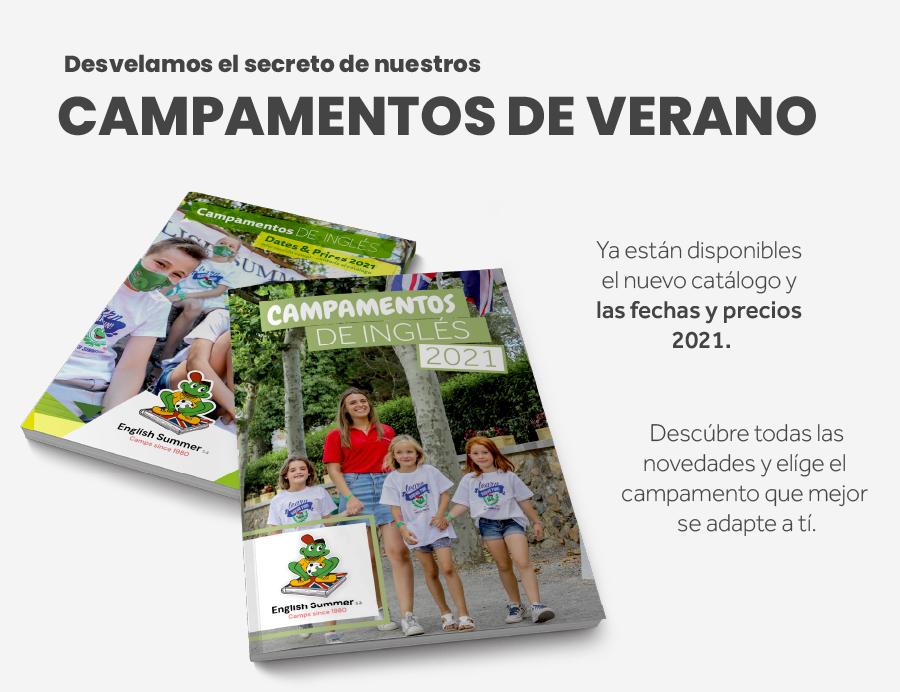 Catalogo virtual campamentos de verano 2021